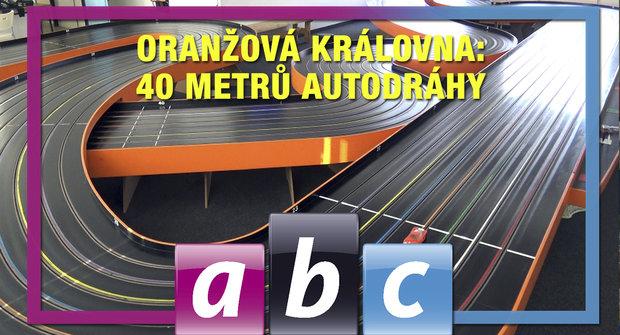 ABC TV: Podívejte se na 40 metrů dlouhou autodráhu!