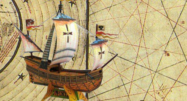 Papírová historie #21: Kolumbova karavela Pinta otevřela v ABC novou éru