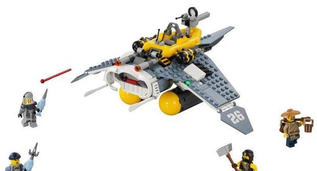 Výherci soutěže o stavebnice Bombardér Mata Ray od LEGO®