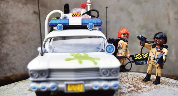 Playmobil Ghostbusters Ecto-1: Jak jezdí Krotitelé duchů?