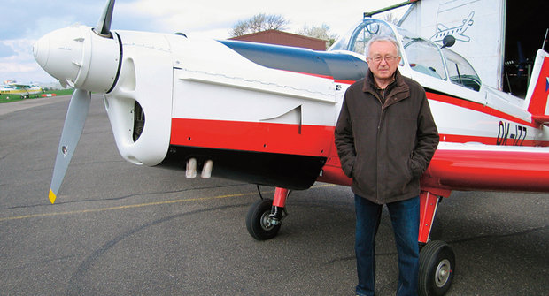 Pilot a modelář: Václav Šorel