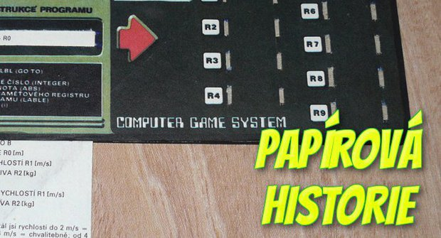 Papírová historie #24: ABC mělo své počítače – z papíru!