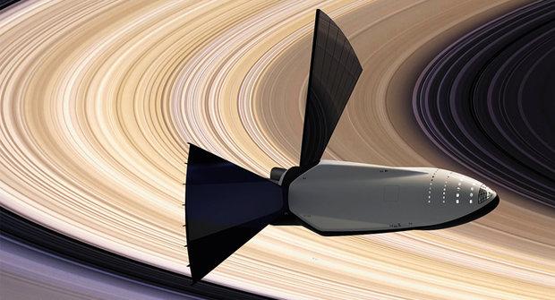 Měsíc Titan: Základna u Saturnových prstenců