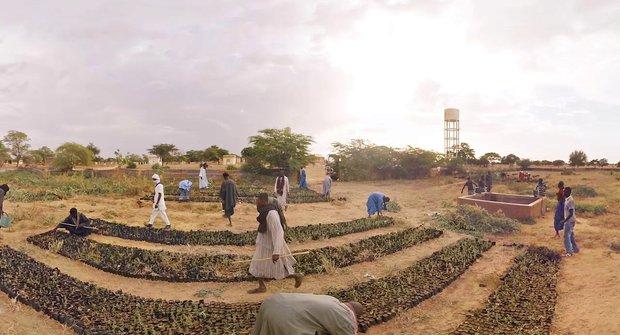 Zelená Sahara? Virtuální realita předpovídá budoucnost