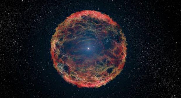 Hvězdná zombie: Vědci objevili podivnou supernovu
