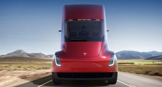 Elon Musk představuje novinky od Tesly: Semi & Roadster