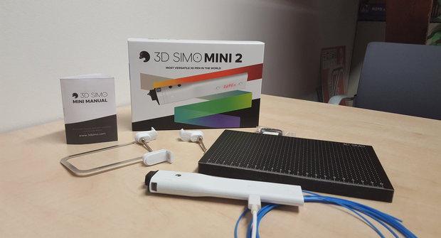 3Dsimo Mini 2: Univerzální 3D pero