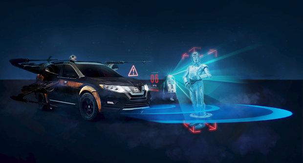 Nissan Star Wars: Auta s rozšířenou realitou