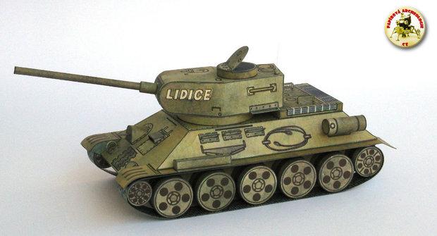 """Papírová historie #26: Tank """"Lidice"""" slaví výročí"""