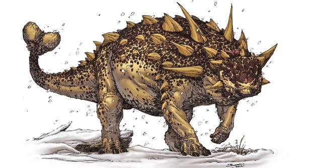 Záhada ankylosaurů: Dinosaurus naruby