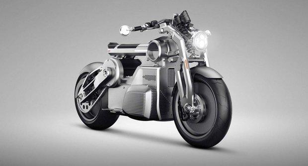 Curtiss Zeus: Božská elektro motorka s iPadem