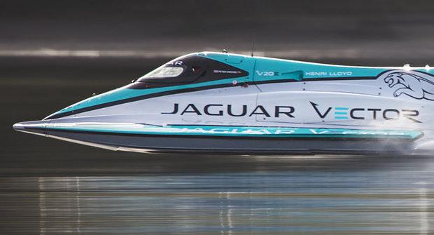 Jaguar Vector: Nejrychlejší elektročlun na světě