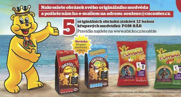 """Pravidla soutěže časopisu Nedělníček """"Originální obrázek Medvěda"""""""