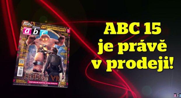 ABC 15/2018: Golem žije ve virtuální realitě!