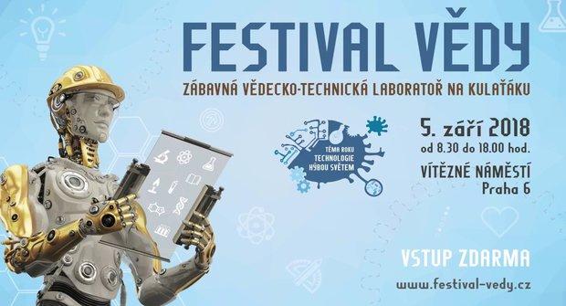 Festival vědy 2018 v Praze