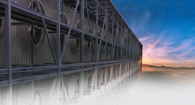 Carbon Engineering: Sci-fi lapač oxidu uhličitého už funguje