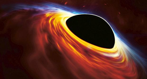 Požírač hvězd: Nenasytná černá díra