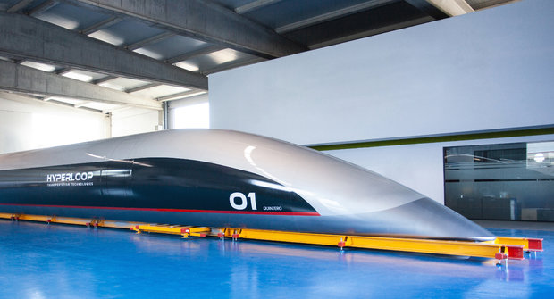 "Jak se staví hyperloop: ""Roura"" pro Quintero"