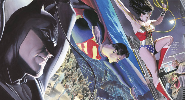 JLA: Svoboda a spravedlnost - komiks je umělecké dílo