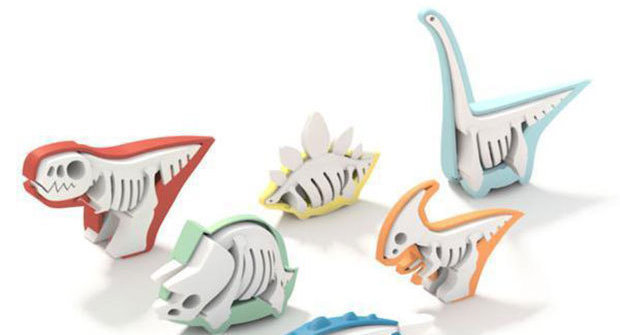 Dinosauři vyhynuli: Pojď si s nimi hrát - s jejich kostrami!
