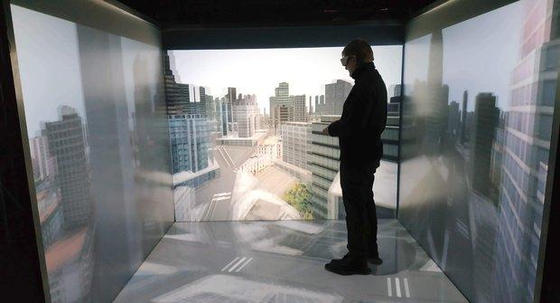 Virtuální realita v české CAVE na ČVUT: Návštěva jiných světů