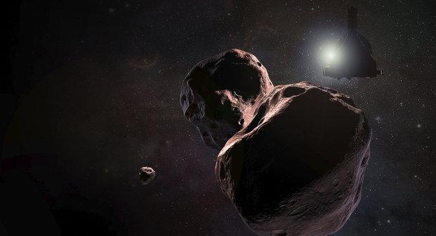 Ultima Thule ve 3D: Podívejte se na blízká setkání se vzdálenou planetkou