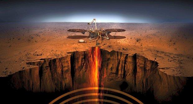 Selfíčko z Marsu: Pozdrav sondy InSight