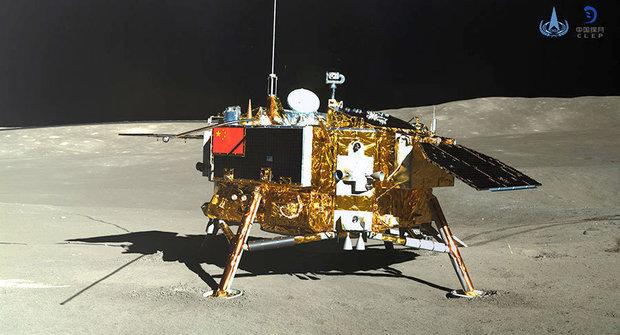 Čínská sonda Čchang-e 4 přistála na odvrácené straně Měsíce
