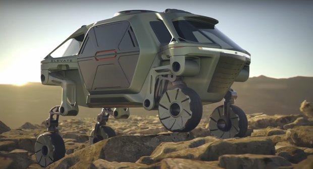 Roboauto Elevate: Teréňák a robot v jednom