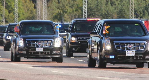 Trumpovo a Putinovo auto: Čím jezdí nejmocnější muži světa?