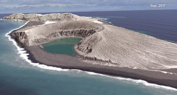 Zrození sopečného ostrova