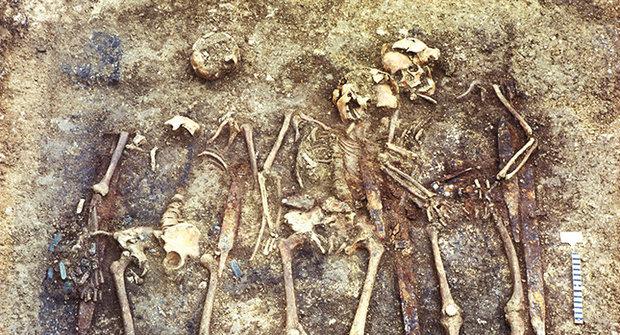 Bojovní Alamani: Tajemství barbarských hrobů