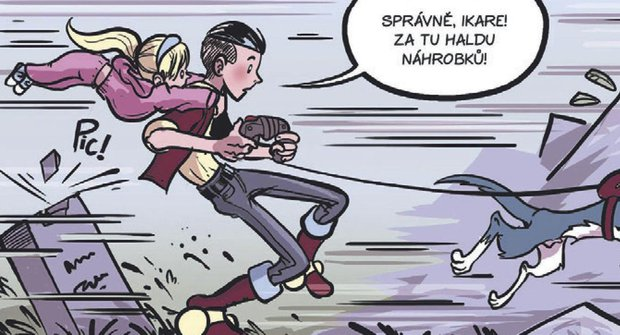 Komiks s rozumem: Jak se kreslí komiks 007 - rychlost