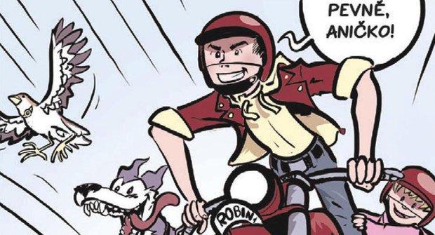 Komiks s rozumem 008: Jak se kreslí komiks - dynamika