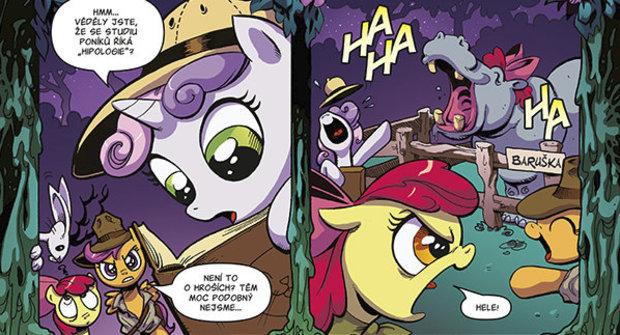 Výherci soutěže s Mateřídouškou o komiks My Little Pony