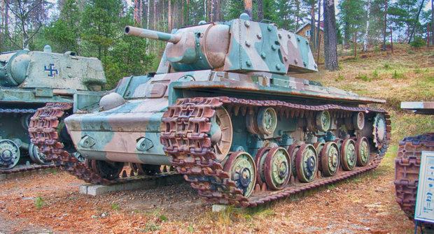 Sovětský tank KV-1: Pomalu, ale jistě