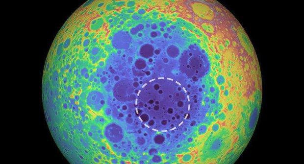 Záhadný objev na Měsíci: Velké množství hmoty pod povrchem