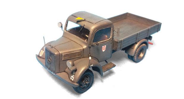 Plastikové modely 6: Stavba vojenských automobilů