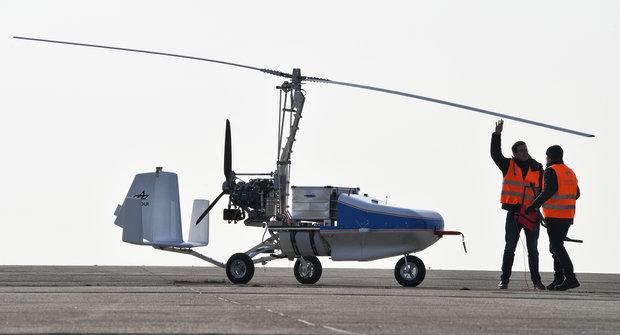 Bezpilotní vírník: Létající šerpa