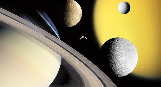 Saturn: Král měsíců změnil Sluneční soustavu