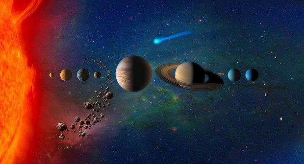 Průvodce Sluneční soustavou: Zrozená zprachu a plynu