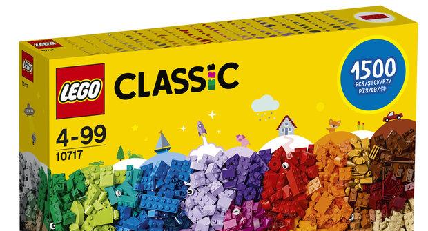 Výherci soutěže o 5 stavebnic LEGO Kostky kostky kostky
