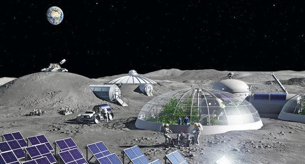 Člověk znovu na Měsíci: Kdy se začne stavět stanice Měsíční brána?