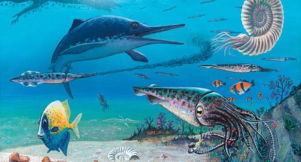 Přepálený start: Nadvláda pravěkých ještěrů ichtyosaurů byla krátká