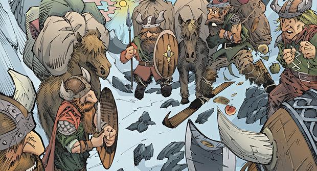 Ledovce tají: Zamrzlí vikingové odhalují staré poklady