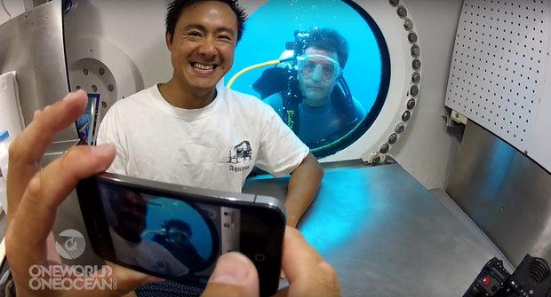 Wi-fi pod vodou: Podmořská laboratoř Aquarius připomíná Mezinárodní vesmírnou stanici