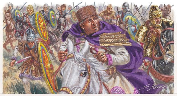 Konec barbarů: Svět na prahu středověku