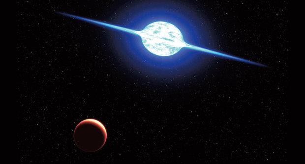 Nový objev: Extrémně rotující hvězda se točí nejrychleji v Galaxii