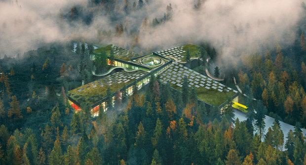 Nejekologičtější továrna světa vyroste uprostřed lesa