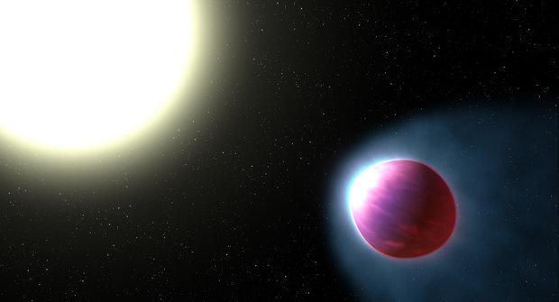 Extrémní svět: Exoplaneta, ze které unikají kovy